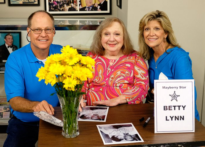 Betty Lynn at Andy Griffith Museum