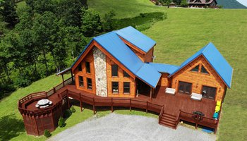 Blue Ridge Mountain View Cabin Yadkin Valley NC