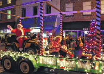 Christmas Parade and Tree Lighting in Downtown Pilot Mountain