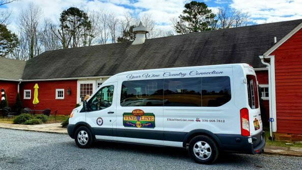 Elkin Vine Line Wine Shuttle Yadkin Valley NC