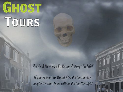 Ghost Tours of Mount Airy, North Carolina