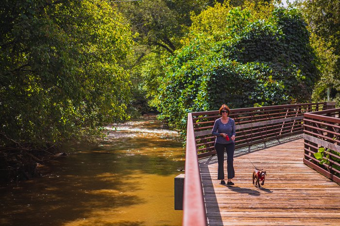 Granite City Greenway in Mount Airy NC Yadkin Valley outdoors