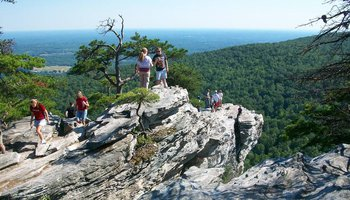 Hanging Rock State Park Yadkin Valley NC