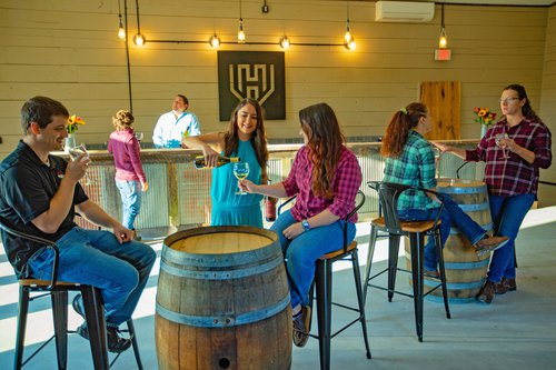 Hidden Vineyard Tasting Room Yadkin Valley NC