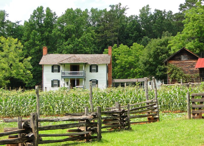 Horne Creek Farm Living Historical Farm Surry County NC