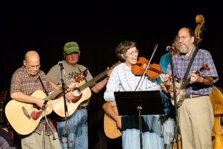 Bluegrass Old-Time Jam Session Mount Airy NC
