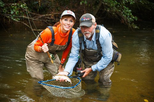 Trout Fishing Guide Service in Surry County, NC