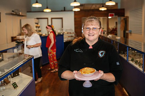 Prudence McCabe Confections sonker trail Sue Heckman