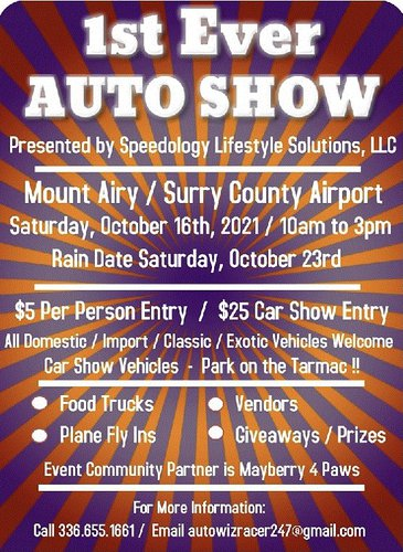 Auto Show at Surry County Airport