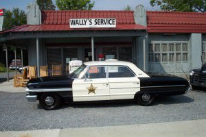 Vintage squad cars take riders to Mayberry