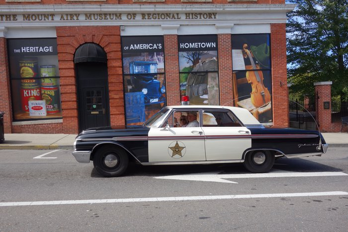Mayberry Squad Car Tours in Mount Airy, North Carolina