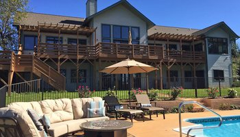 Chardonnay and Merlot Suites at Pilot Mountain Vineyards