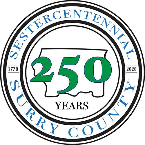 Surry County 250th logo