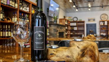 Uncorked in Mayberry Mount Airy wine bar Yadkin Valley