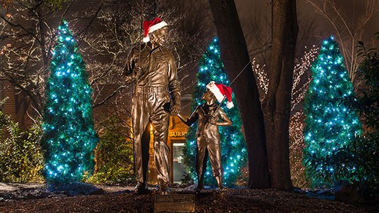 Enjoy Holiday Light Displays In and Around Mayberry