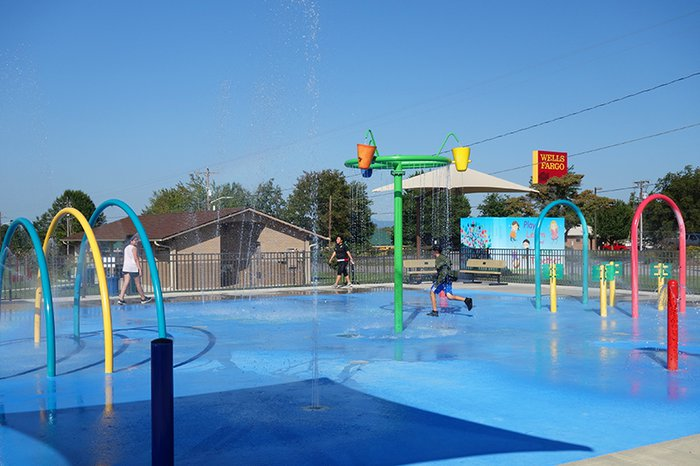 Dobson's Splash Pad is the Hot Spot to Cool Off this Summer