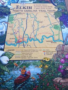 Elkin: A Trails Town Located on the Yadkin River