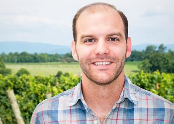 Ethan Brown Brings Winemaking Full Circle at Shelton Vineyards