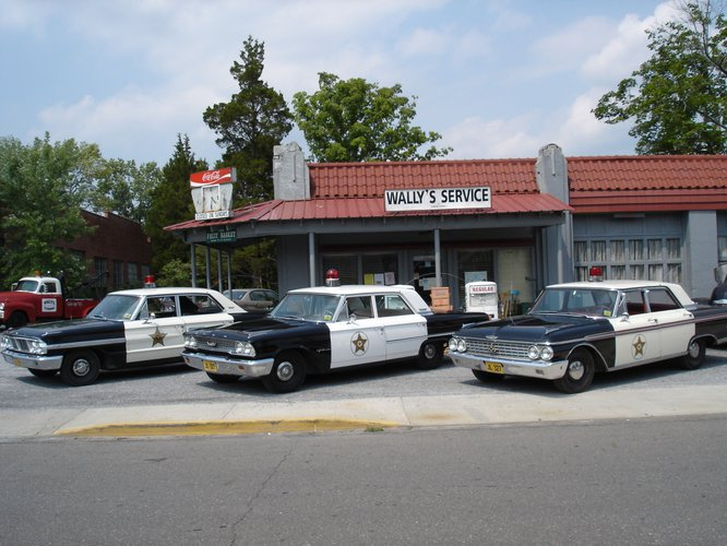 Mayberry Squad Car Tours